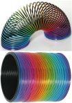 Kunststoffspirale Regenbogen per Stück  Mini-Windmühle / Mini-Windrad, farblich sortiert, per Stück Jongliertuch ...