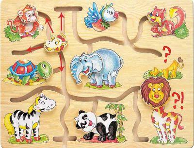 Schiebepuzzle / Motorikspiel / Motorikbrett Afrika Schiebepuzzle / Motorikspiel / Motorikbrett Afrika Anlegepuzzle Alphabet A -...