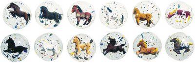 Flummy / Gummiball 3-D Pferde per Stück Flummy / Gummiball 3-D Pferde per Stück Jonglierbälle - 3er Set Regenbogenba...