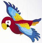 Schwingtier - Papagei  Schwingfigur - Animal Airlines Schwingfigur - Schmetterling Schwingfigur - ...