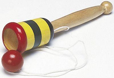 Fang den Ball im Becher Fang den Ball im Becher Jongliertuch - Chiffontuch gelb Wasserspritzer Ente ...
