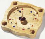 Tiroler Roulette  Holzspiel - Halma Holzspiel - Solitaire Holzspiel - 3-D Tic Tac Toe Holzspi...