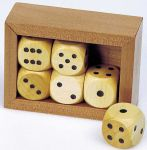 Würfelkasten mit 6 Würfeln  Holzspiel - Backgammon Klappenspiel im Holzkasten Klappenspiel Klappenspiel...