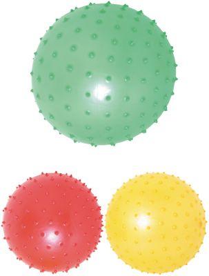 Noppenball - Igelball mit ca. 18 cm per Stück Noppenball - Igelball mit ca. 18 cm per Stück Jonglierbälle - 3er Set Regenb...