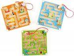 Magnetisches Labyrinth 4-eckig per Stück  Magnetspiel mit geometrischen Formen Entchen-Labyrinth Magnetspiel Trapeze ...