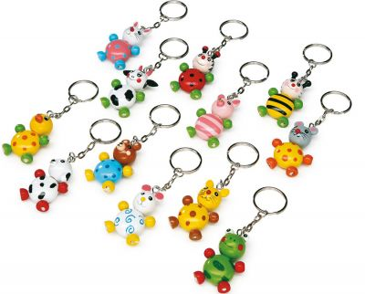 Schlüsselanhänger / Schlüsselwächter Tierkinder per Stück Schlüsselanhänger / Schlüsselwächter Tierkinder per Stück Schlüsselanhänger ...