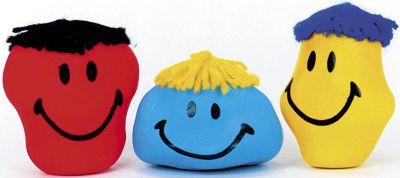 Anti-Frust-Knautschgesichter per Stück Anti-Frust-Knautschgesichter per Stück Jongliertuch / Chiffontuch gelb Wass...