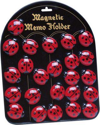 Magnethalter Marienkäfer per Stück Magnethalter Marienkäfer per Stück Magnethalter Smile per Stück Magnethalter...