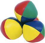 Jonglierbälle - 3er Set  Jonglierbälle - 3er Set Regenbogenball / Gummiball / Flummy per Stück Gummi...