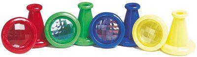 Fliegenauge Kunststoff farblich sortiert per Stück Fliegenauge Kunststoff farblich sortiert per Stück Jongliertuch / Chiffontu...