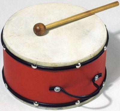 Trommel mit Naturfell Trommel mit Naturfell Blockflöte Xylophon aus Metall Xylophon aus Holz mit 4...