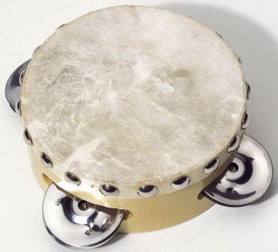 Tamburin mit Naturfell Tamburin mit Naturfell Blockflöte Xylophon aus Metall Xylophon aus Holz mit ...