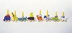 Geburtstagskarawane  Geburtstagsraupe Camila Geburtstagskranz - Figuren Geburtstagskranz - Marit...