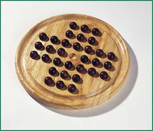 Solitaire Holzspiel