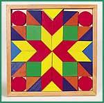 Mosaik - Legespiel  Mosaik - Legespiel Farben und Formen -  Die 4 Türmchen Sort Box - Sortierb...