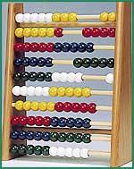 Rechenrahmen  Rechenrahmen Rechenrahmen aus Holz 16 x 5,2 x 18 cm Rechenrahmen 16,5 x 5 x...